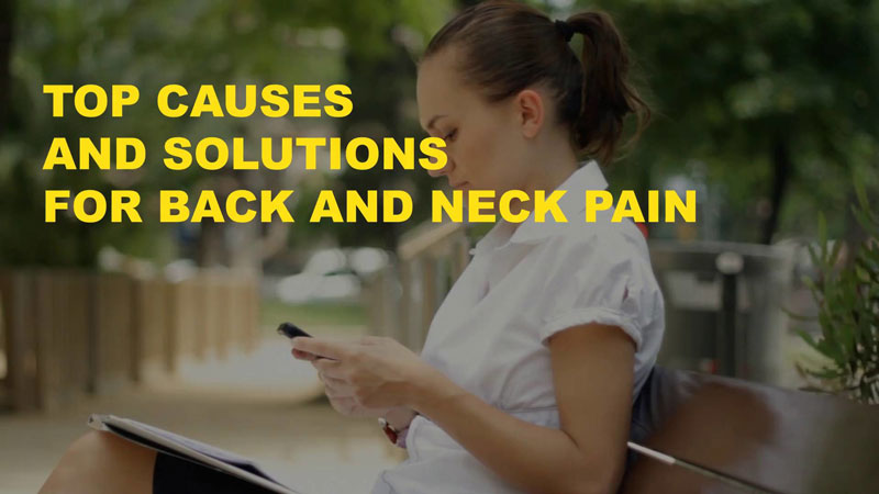 Top Causes (and Solutions) for Back Pain [VIDEO]