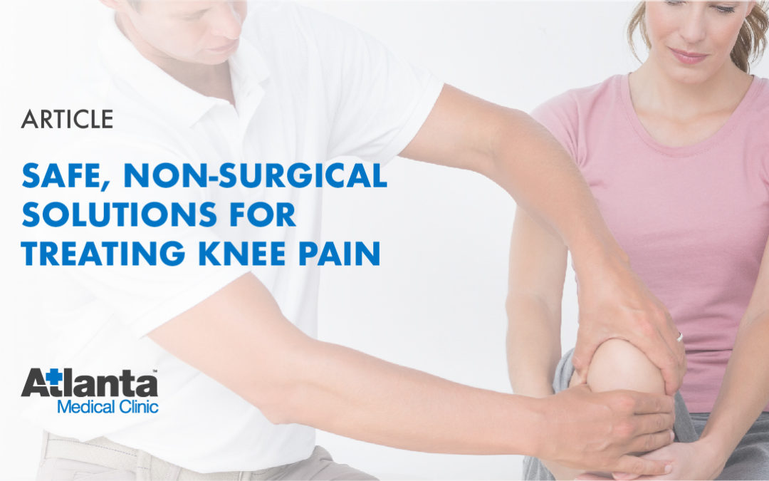 Safe, Non-Surgical Solutions for Treating Knee Pain